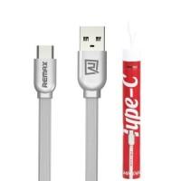 Remax Type-C кабель RC-047a Type-C to USB, 1м white (шт.)