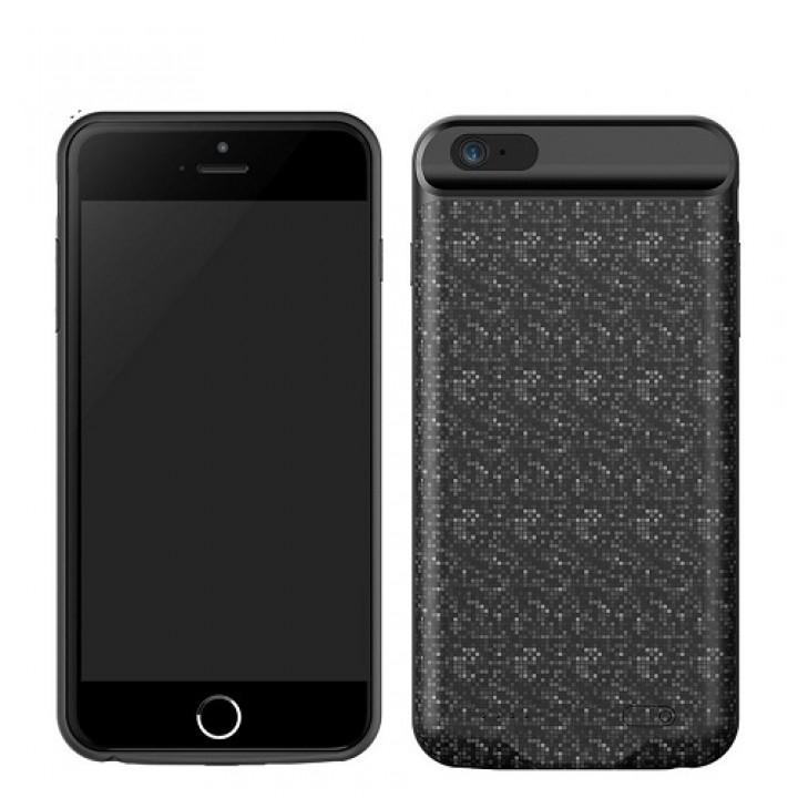 Чехол-аккумулятор для iPhone 6/6S Plus Baseus Plaid Backpack Power Bank Case, 7300mAh черный (шт.)