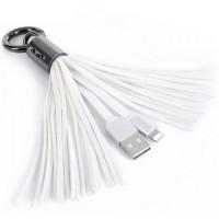 Remax USB Lightning кабель Tassel Ring RC-053i , 0.15m white (шт.)