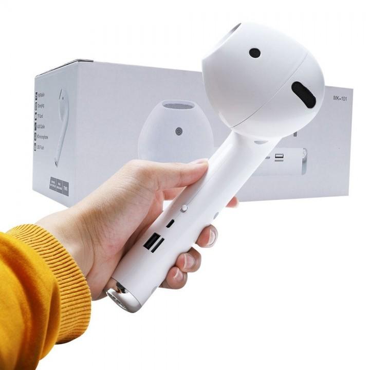 Портативная колонка Bluetooth Airpods Giant Headset Multifunctional Speaker MK-101