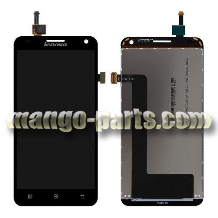 LCD Дисплей+сенсор  Lenovo  S580 черный (шт.)