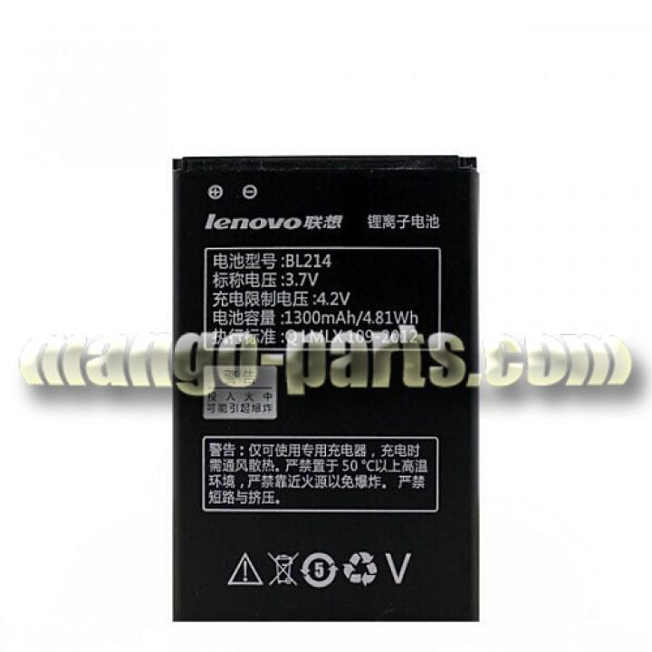 Аккумулятор Lenovo BL214/A208T/A218T/A269/A278T/A305e/A316i/A369/A365E,1300 mAh,оригинал (шт.)