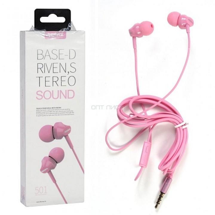 Наушники Remax RM-501 Pink (шт.)