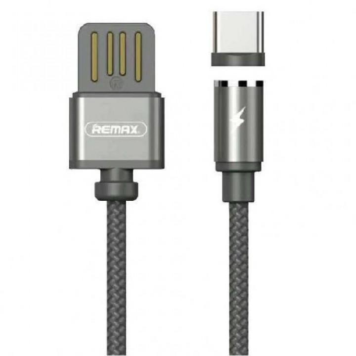 Remax Type-C кабель Gravity RC-095a Type-C to USB (магнитный), 1.00м gold (шт.)