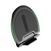 Беспроводное зарядное устройство Baseus Foldable Multifunction Wireless Charger Black