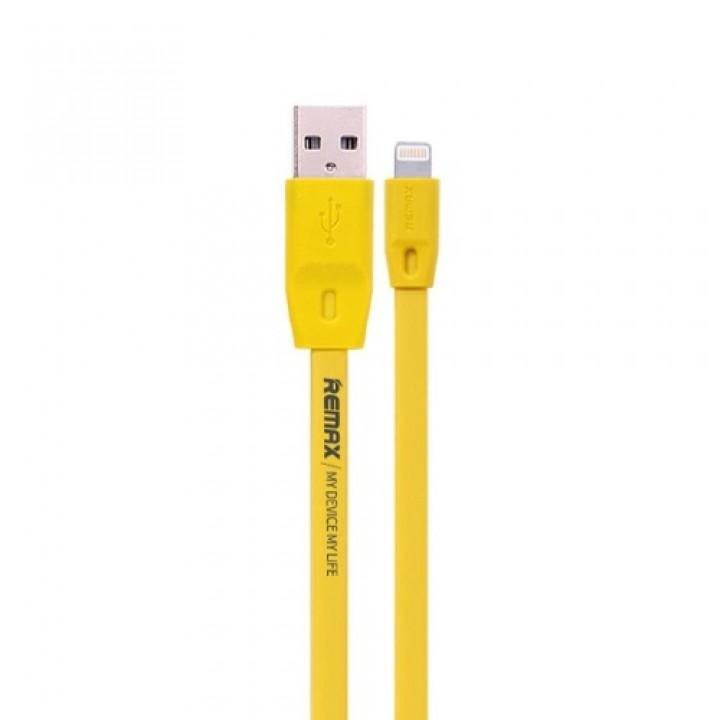Remax USB Lightning кабель Full Speed , 2.0м yellow (шт.)