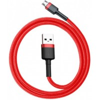 Baseus USB Micro кабель Cafule Cable 2A, 3m Red+Black