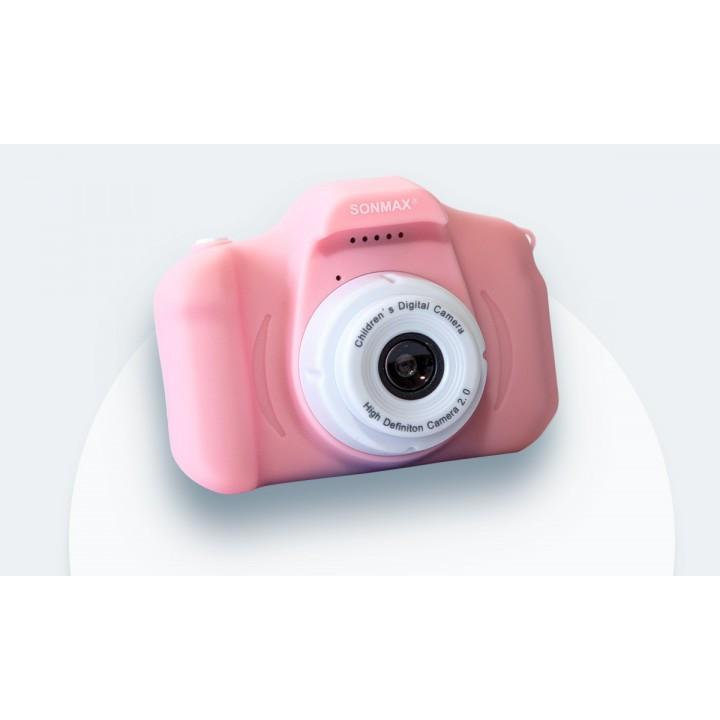 Детский цифровой фотоаппарат X2 1.3MP, pink (шт.)