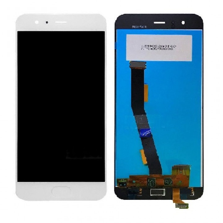 LCD Дисплей+сенсор  Xiaomi Mi6 белый (+кнопка Home) (шт.)